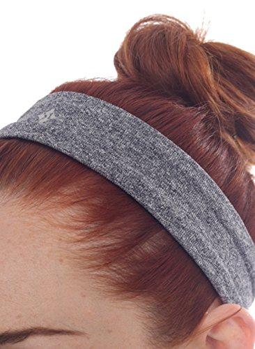 NUX Women's Headband, Black, One Size
