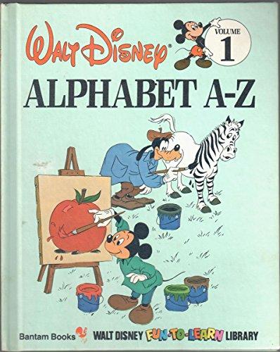 Alphabet A-Z (Disney