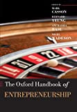 img - for The Oxford Handbook of Entrepreneurship (Oxford Handbooks) book / textbook / text book