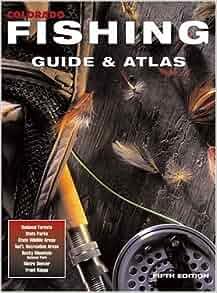 Colorado fishing guide atlas outdoor books maps for Colorado fishing atlas
