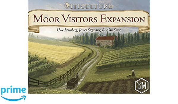 Ghenos Games – Moor Visitors [Expansión para Viticulture], 530830 ...