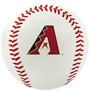 Rawlings MLB Arizona Diamondbacks Team Logo Baseball, Official, White