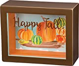"Shadow Box - Happy Fall SIZE: 5"" x 4"""
