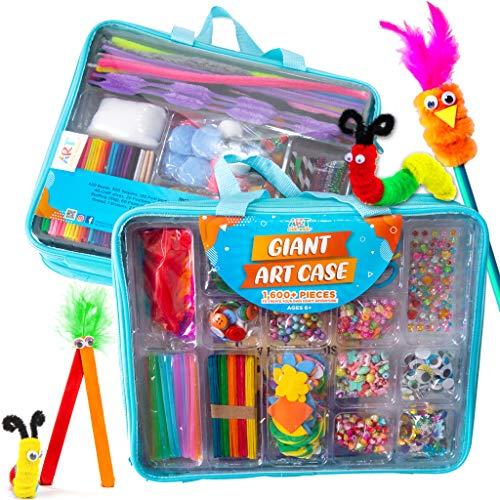 Big bag of arts and crafts supplies