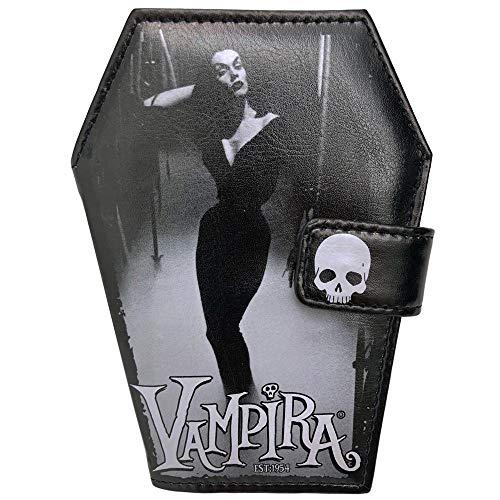 Kreepsville 666 Vampira Mist Luggage Coffin Wallet