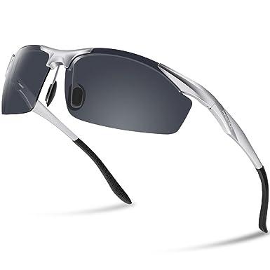 Herren Sportbrille Sonnenbrille polarisierende Scheiben Radsport