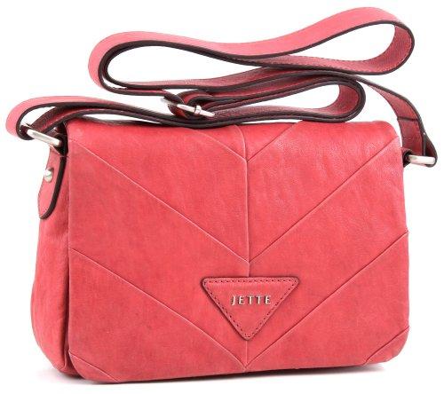 JETTE Mrs. Stevens small Shoulder Bag 4030001013, Damen Schultertaschen 22x15x6 cm (B x H x T) Rot (Light Red 301)