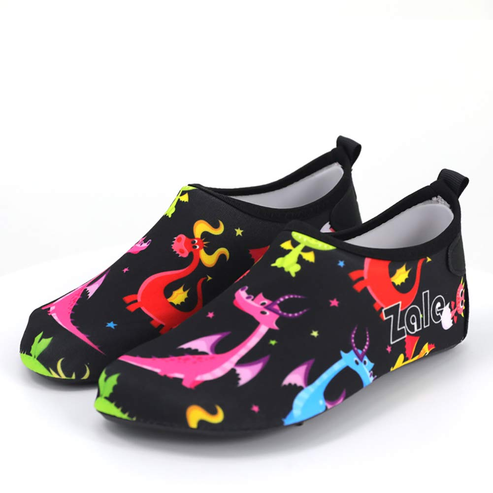 MCERMR Kids Boys Girls Pool Shoes Athletic Water Shoes Barefoot Footware for Pool Beach