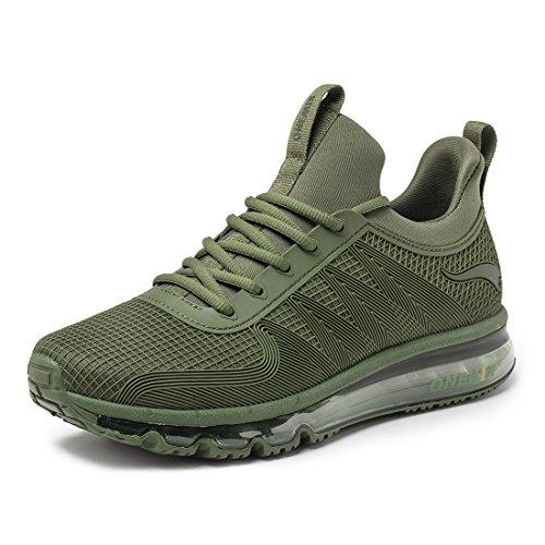 Corsa Sportive ONEMIX Verde Fitness Sneakers Running Scarpe Ginnastica da Air da da Uomo Casual Scarpe SvHSq8Rf