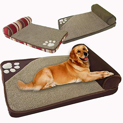 Amazon.com : FGSJEJ Pet nest Kennel Perro de gato Linda cama Extra Grande para mascotas, Nido de mascotas Dog Bed pet nest Supplies Dog mat (Color : Brown, ...