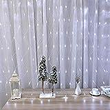 Lyhope 12ft x 5ft 360 LED Christmas Net Lights, 8