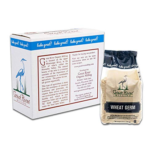 Great River Milling, Wheat Germ, Non-Organic, 32 Ounces (Pack of 4): Amazon.com: Grocery & Gourmet Food