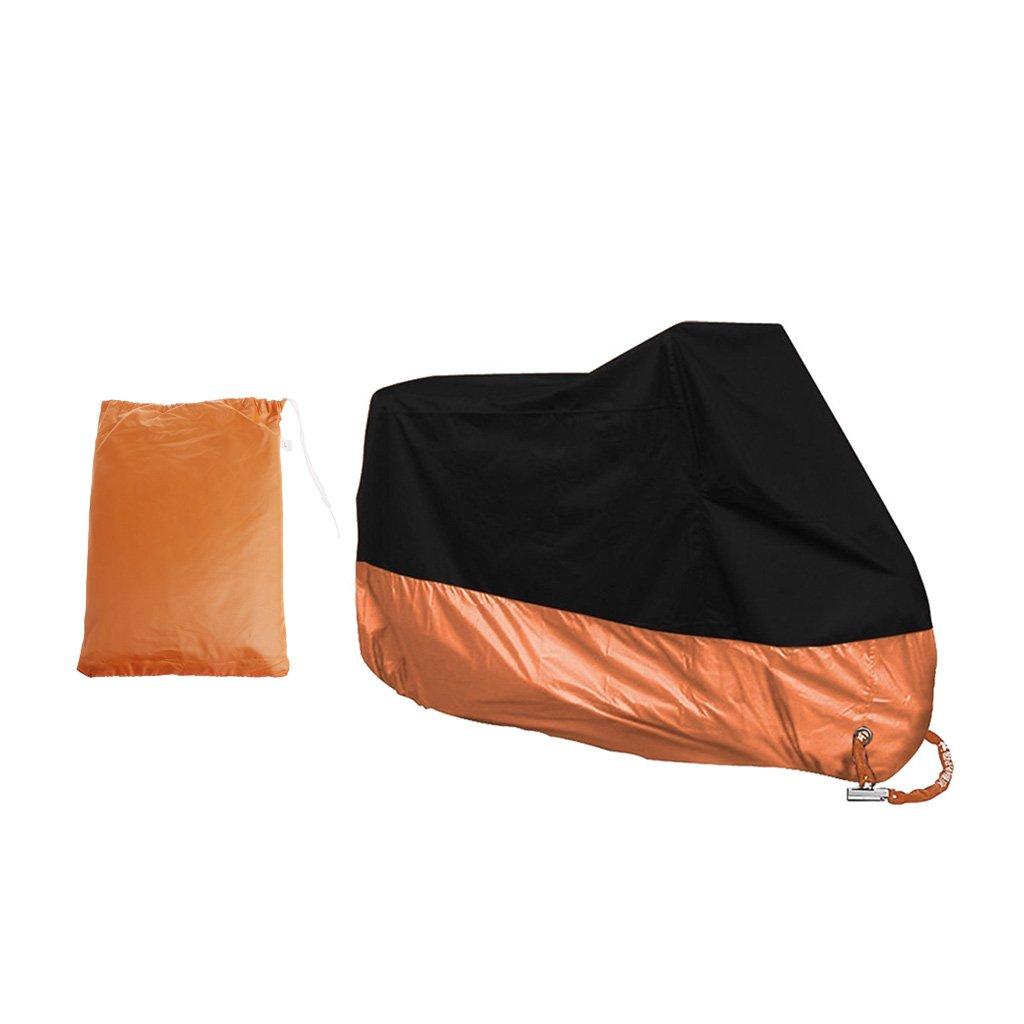 Dust Bike Motorcycle Cover L Waterproof Outdoor Rain UV Protector Motorbike
