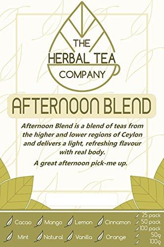 Patchouli Leaf Loose Herb Afternoon Tea Blend 100g With Cinnamon (Patchouli Leaves)