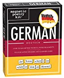 Magnetic Poetry - German Kit - Words for Refrigerator - Write Poems and Letters on the Fridge - Made in the USA