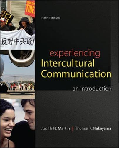 78036925 - Experiencing Intercultural Communication: An Introduction