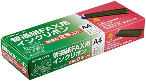 Kokuyo FAX Ink for Ribbon Sharp 2 pieces RC-FAX-SH1-2P Japan by コクヨ(KOKUYO)