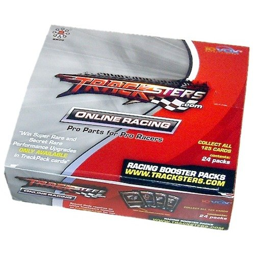 Tracksters Online Car Racing Track Pack Booster Box - Available 24 Booster Pack Box