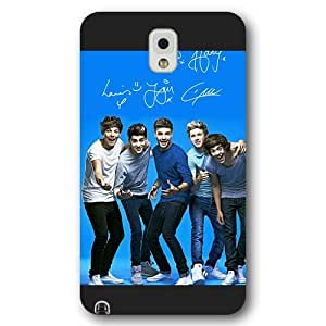 UniqueBox Customized Black Frosted Samsung Galaxy Note 3 Case, One Direction(1D) Samsung Note 3 case