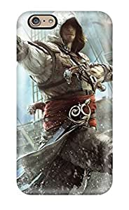 9246319K67897790 Protection Case For Iphone 6 / Case Cover For Iphone(assassin's Creed Iv Black Flag)