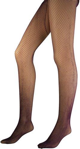 bd0be7219 Amazon.com  BOS Burgundy Fishnet Pantyhose Size  One Size  Clothing