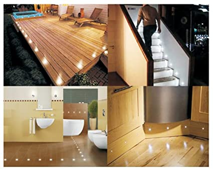 519FNEu15zL._SX425_ set of 10 waterproof led white deck lights decking plinth how to wire plinth lights diagram at mifinder.co