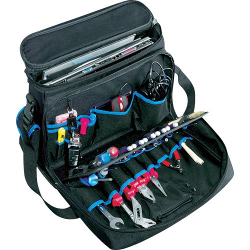 B&W International TUC-11601 Technician Notebook Tool Bag with Pocket Pallets