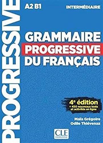 Grammaire Progressive Du Francais - Niveau Intermédiaire - Livre + CD + Livre-web - 3eme Edition French Edition