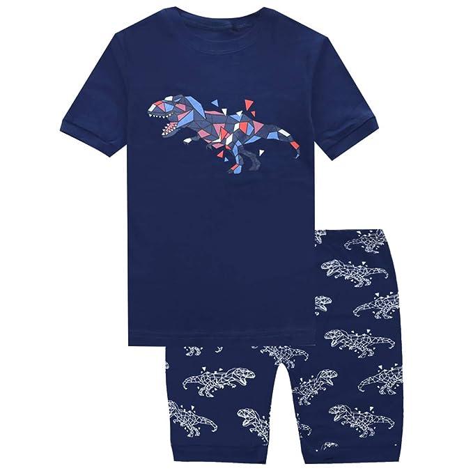 Amazon.com: PHOEBE - Juego de pijamas para niños, diseño de ...