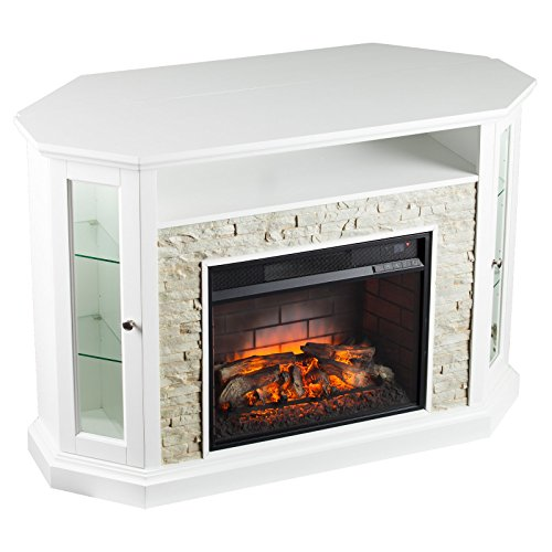 Southern Enterprises Redden Corner Electric Fireplace