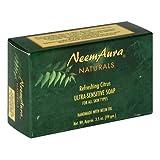 Neemaura Naturals Ultra Sensitive Soap, Refreshing Citrus, 3.5 oz (99 g) (Pack of 4)