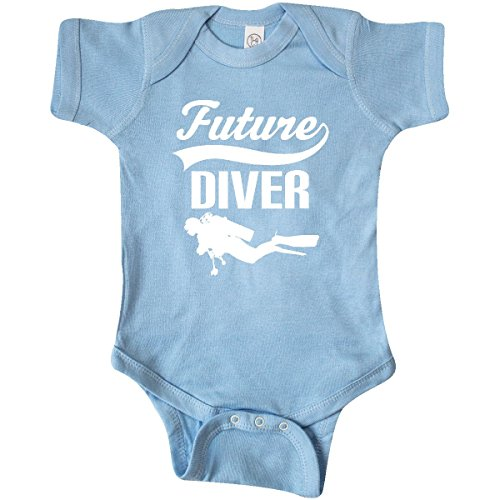 inktastic - Future Diver Scuba Diving Infant Creeper 6 Months Baby Blue 27d33
