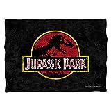 Universal Studios Classic Movie Logo - Jurassic Park - Pillow Case