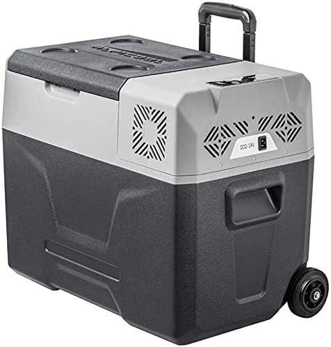 50Lオートマチック車のクーラー内部記憶装置の二重冷凍圧縮機の使用/ 24V 12小型携帯冷蔵庫冷凍庫ヘルム