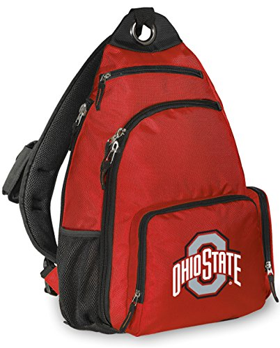 Broad Bay Ohio State University Backpack Comfortable OSU Buckeyes Single Strap Backpacks