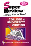 Super Review, Research and Education Association Editors, 0878911855