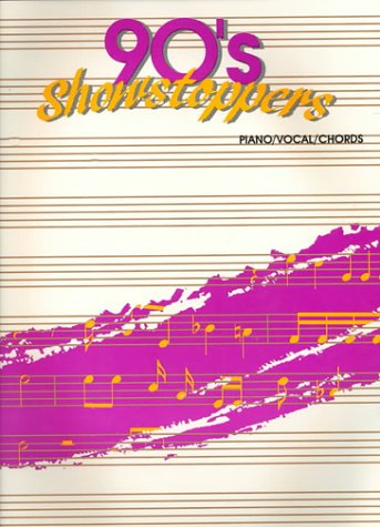 '90s Showstoppers: Piano/Vocal/Chords (Broken Hearted Me Sheet Music)