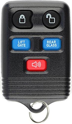 KeylessOption Keyless Entry Remote Control Car Key Fob Clicker Replacement for Navigator CWTWB1U551