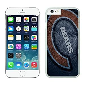 NFL&Chicago Bears iphone 6 Cases 4 White 4.7 inches cell phone cases&Gift Holiday&Christmas Gifts PHNK624290