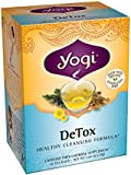 Yogi Teas Detox,16 Tea Bags, (Pack of 6)