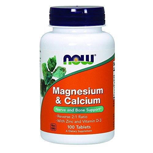 NOW Magnesium Calcium 100 Tablets
