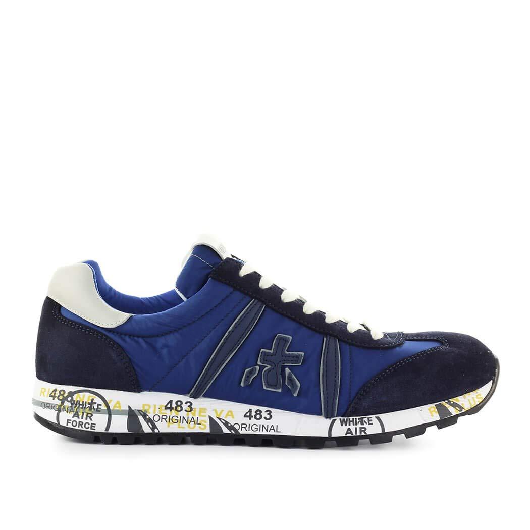 PREMIATA Herren Schuhe Turnschuhe Lucy 3815 Blau SS 2019