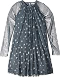 Stella McCartney Kids Girls' Misty Star Print Tulle Dress, Blue, 6