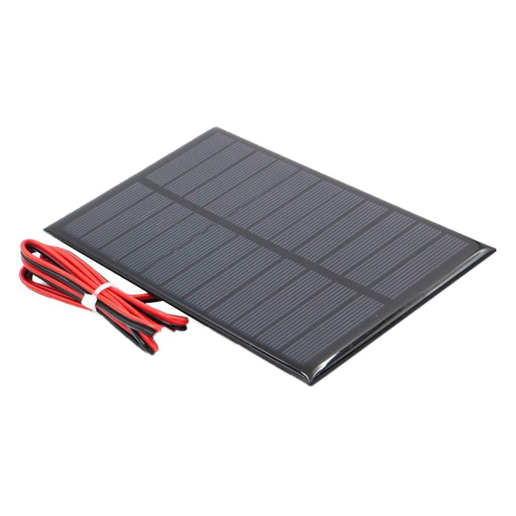 Fenteer Puissance Panneau Solaire Chargeur de Batterie pour Voiture Bateau Extérieur - 5V 250mA