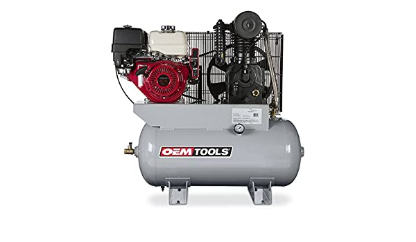 Amazon.com: OEMTOOLS 26105 13HP 30 Gallon Honda Gas Powered Air Compressor: Home Improvement