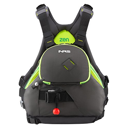 NRS Zen Lifejacket (PFD)-Charcoal-L/XL (Rescue Life Vest)