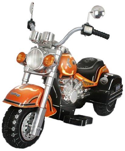 (Merske Harley Style Chopper Style Motorcycle, Orange)