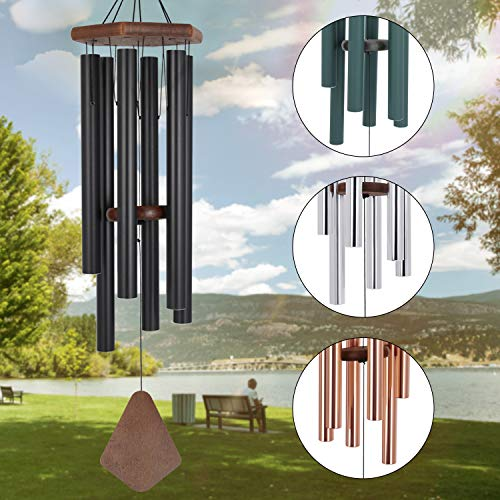 Wind Chimes Outdoor Large Deep Tone,36