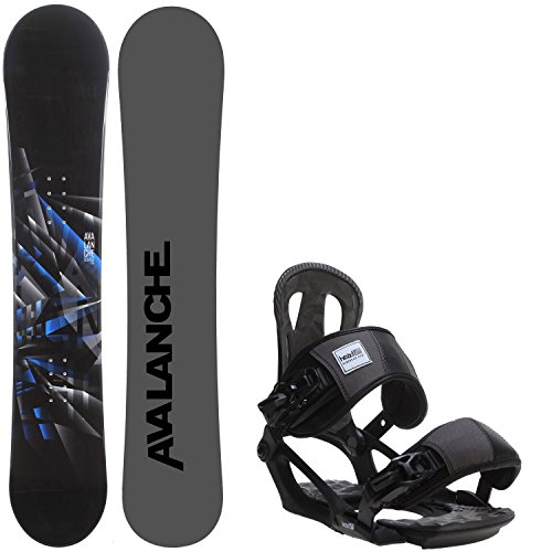Avalanche Source 158 Mens Snowboard + Head NX One Bindings Fits US Mens Boots Sized: 9,10,11