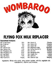 Flying Fox Milk Replacer - 140 Gram (Wombaroo) Orphaned Flying Fox (Fruit Bat) Pups